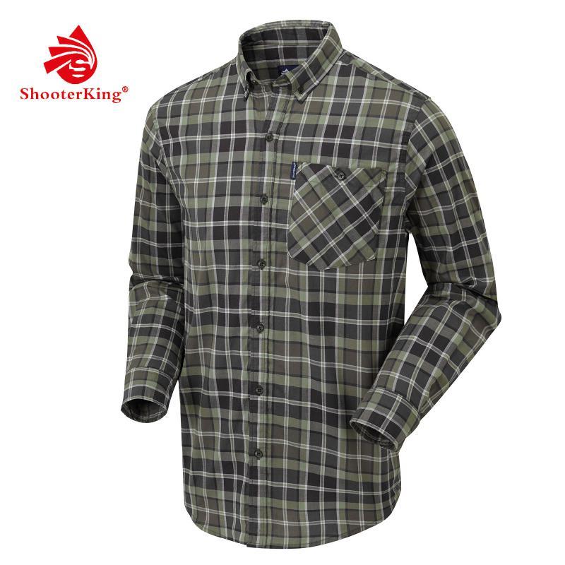 Shooterking Elk Hemd, Herren