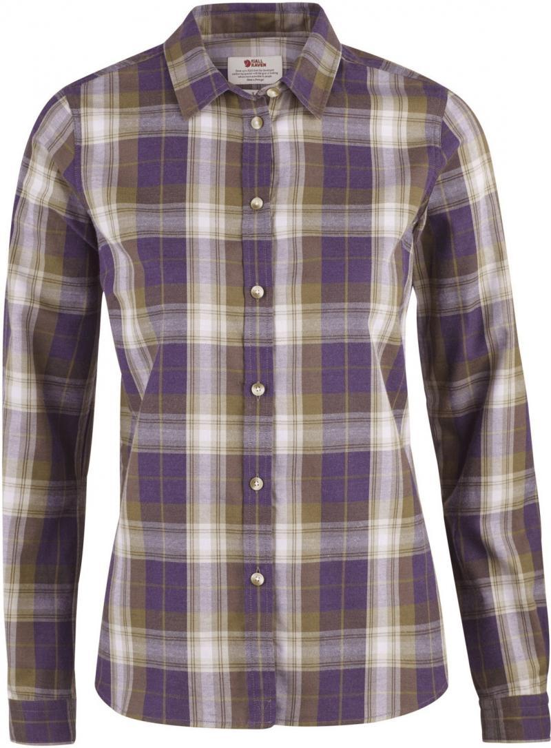 Övik Flannel Shirt Hemd LS Women